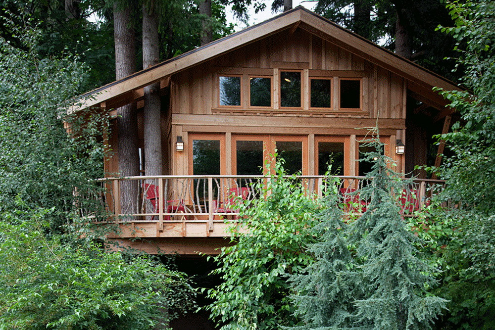 Дом на дереве новый экотренд