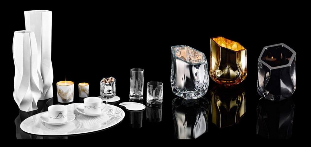 Дизайн-студия Захи Хадид представила коллекцию предметов для дома