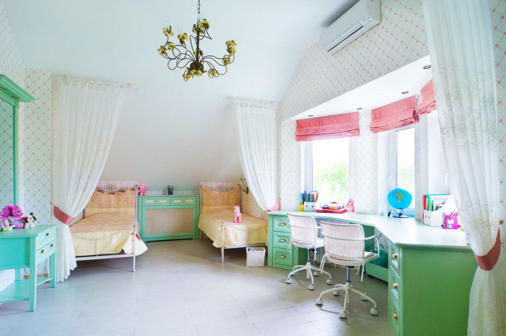 Детская комната – пространство полной свободы и безграничной фантазии