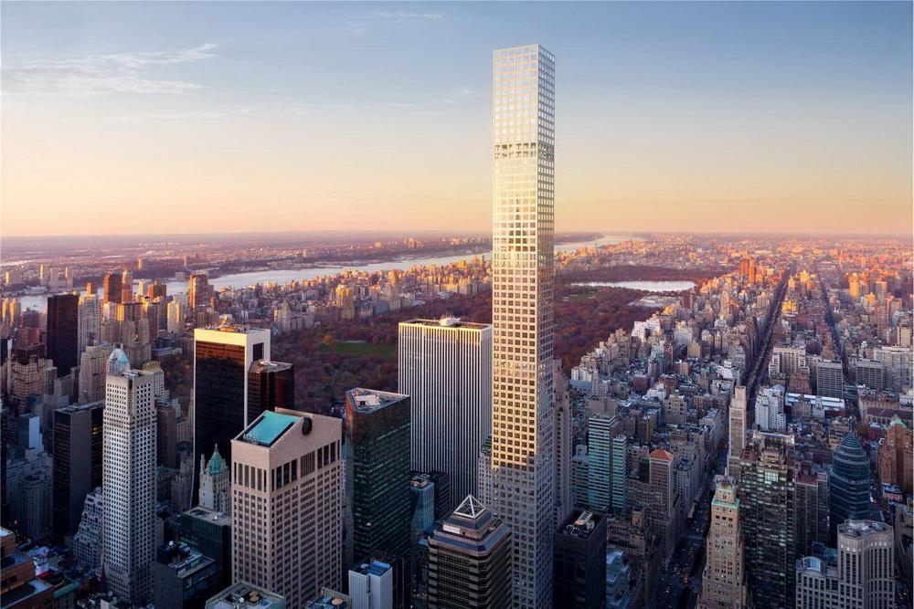Открыта первая сотня небоскребов
